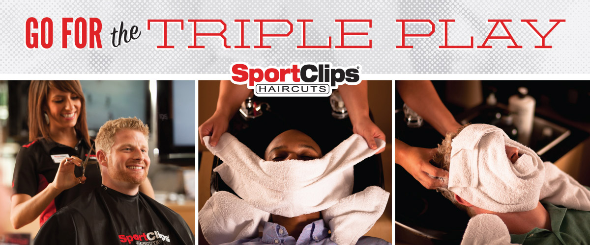 The Sport Clips Haircuts of Pueblo Crossing Triple Play
